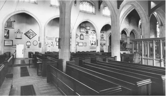 Nave and North Aisle 1978