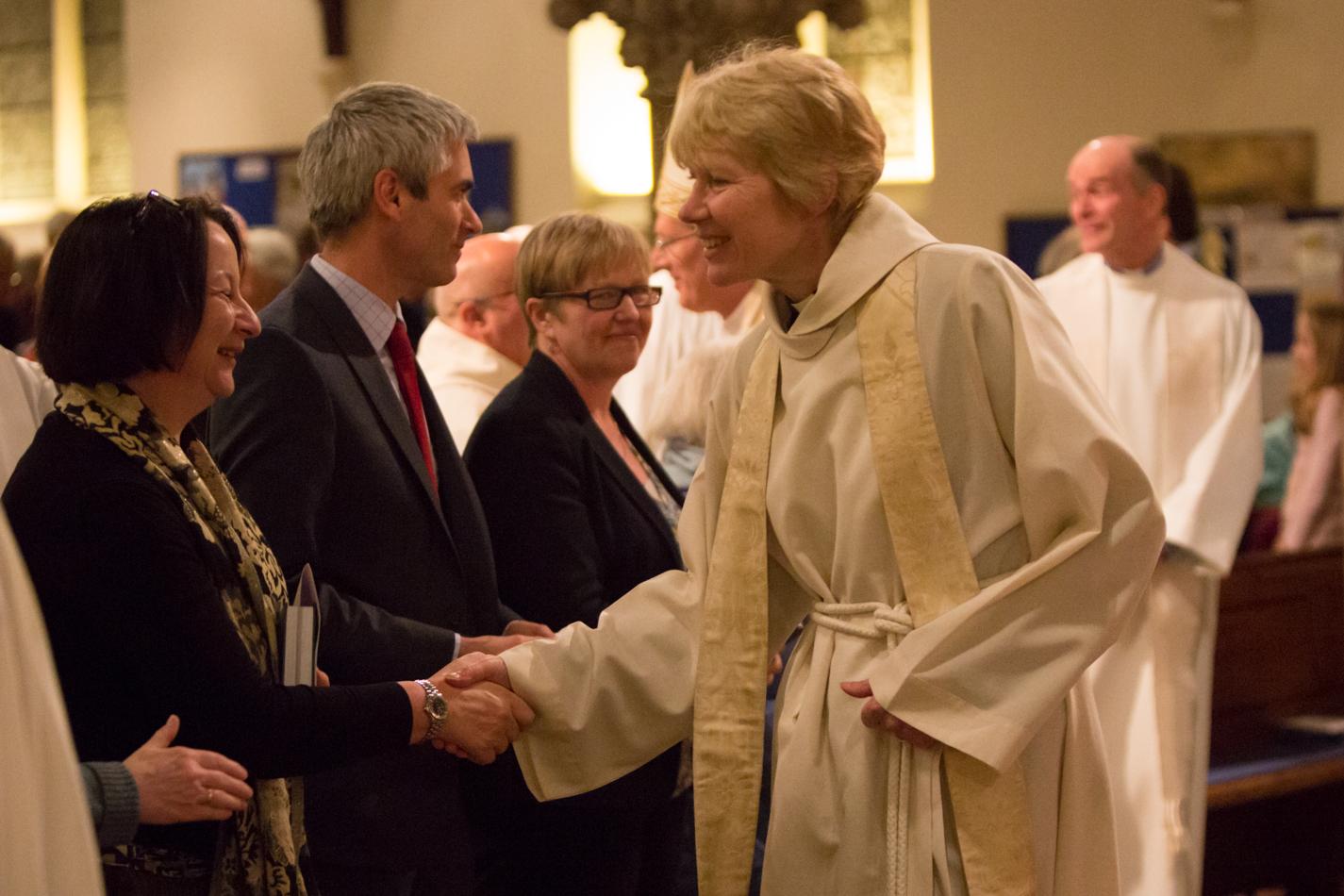 Revd Canon Dr Ann Nickson